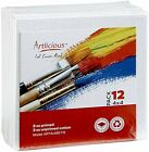 CANVAS PANELS  SUPER VALUE PACK Artist Canvas Panel Boards Several Sizes