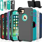 Shockproof Hard Case Cover For Apple iPhone 7 / 8 / Plus Fits Otterbox Belt Clip