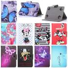 New Universal Kid Cartoon Flower PU Leather Case Skin Cover For 7-10'' Tablets