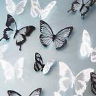 18 Pcs 3d Butterfly Wall Stickers Art Decal Home Room Decorations Decor Kids