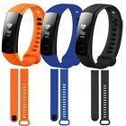 Silicone Rubber Replacement Strap Band Wristband For Huawei Honor Tracker Band 3