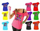 Ladies I Love The 80s T-Shirt 80's Outfit  Fancy Dress up Party Top Lot 5970