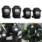 4x Motorcycle Cycling Racing Rider Elbow & Knee Pads Armor Protective Guard Set