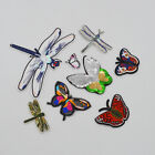 Embroidery Butterfly SewOn Patch Badge Embroidered clothe Fabric Applique Crafts