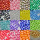 Wholesale Lot  8mm  Round loose Faceted spacer beads DIY jewelry making AB color