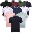 Mens Brave Soul Glover Polo T-Shirt Casual Top Golf Top
