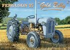FERGUSON 35 TRACTOR LITTLE GREY MARE GOLD BELLY SIGN METAL PLAQUE NOSTALGIC 1245