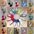 Womens Ladys Ballet Flat Suede Casual Slip On Loafers Boat Single Shoes 19-Color