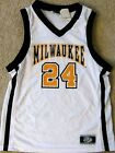 WISCONSIN-MILWAUKEE PANTHERS YOUTH BASKETBALL JERSEY #24 YOUTH MEDIUM OR LARGE