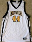 WISCONSIN-MILWAUKEE PANTHERS MEN'S BASKETBALL JERSEY NCAA #44 MEDIUM, LARGE NEW!