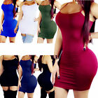 Women Bandage Bodycon Casual Sleeve Evening Party Cocktail Club Long Mini Dress