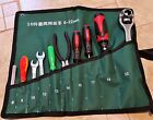 Durable Canvas Wrench Spanner Tool Roll Up Storage bag Organizer  8/10/14 Pocket
