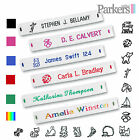 BRAND NEW WOVEN SEW IN NAME TAPES NAME LABELS 36 72 144 SCHOOL CARE HOME ARMY
