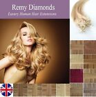 """22"""" 1G 25's-200's INDIAN REMY Micro Loop Ring HUMAN Hair Extensions UK Seller"""
