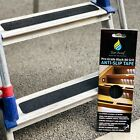 Non-Slip Textured Safety Adhesive Strips for Loft Ladder in Black or Clear