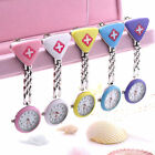 New Triangle Nurse Watch Clip-on Fob Brooch Pendant Hanging Pocket Quartz Watch