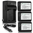 NP-FW50 Battery for Sony Alpha A6500 A6300 A6000 A7r A7 + LCD Dual USB Charger