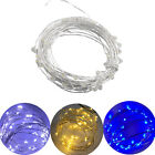 5/10m 50/100Leds Micro Rice Wire Copper Fairy String Lights Xmas Party Decor