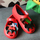 Kid Shoes For Cartoon Mickey Minnie mouse Dress Up melissa Toddler Jelly Sandals
