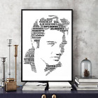 Elvis Presley Songs Word Art Keepsake/Memorabilia/Gift/Collectable FREEPOSTUK
