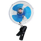 11W 12V/24V Portable Car Vehicles Interior Clip Cooling Oscillating Fan