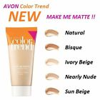 NEW AVON Color Trend Foundation Concealing without Clogging Pores MAKE ME MATTE