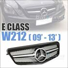 Front Mesh Grille For Mercedes Benz E Class W212 2009-2013 New Single *4 VERSION