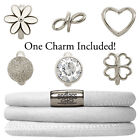 Endless Jewelry StarterKit White Triple Bracelet & Charm (Authorized Retailer)