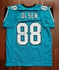 Greg Olsen Autographed Signed Jersey Carolina Panthers JSA
