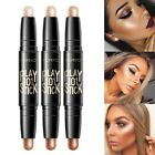2 in 1 Makeup Contour Stick Double Ended Highlight Bronzer Contouring 3D Face