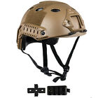 Tactical Airsoft Paintball Protective Combat FAST Helmet Riding Gaming ClimbingHats & Headwear - 177892