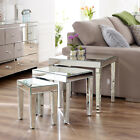 Mirrored Nest of 3 Tables (NEW)