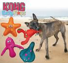 Kong Belly Flops - Dog Puppy Soft Plush Durable Squeaky Toy - They Also Float!