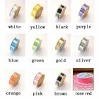 Lace Decorative 2PCS Hollow Out Stickers Lace Lace Tape Adhesive Tape Sticker A