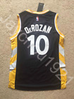 RARE DeMar DeRozan Toronto Raptors Black Swingman Sewn On Jersey Size S XL NWT