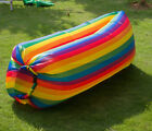 Bean Bags Inflatables - Air Sleeping Bag Lazy Chair Lounge Beach Sofa Bed Inflatable Camping Lounger New
