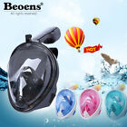 Breath Full Face Mask Surface Diving Snorkel Scuba for GoPro Swimming Tools #wh3