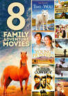 8 Family Adventure Movies (DVD, 2013, 2-Disc Set)