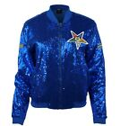 "OES ""Order of the Eastern Star"" Womens New Sequence Jacket Blue"