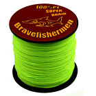 100-1000M 6-300LB Top Green Super Strong PE Braided Fishing-Line