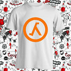 counter strike new game - New Counter Strike Half Life Logo Video Games Men's White T-Shirt Size S-3XL