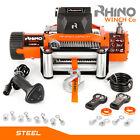 "12v / 24v 4x4 Electric Recovery 13500lb RHINO WINCH  Heavy Duty ""not 13000lb"""