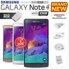 New Factory Unlocked SAMSUNG Note 4 N910F Black White Gold 16GB Android Phone