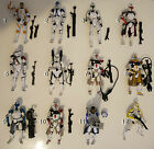 Clone Troopers Star Wars figures complete! $9.0 AUD