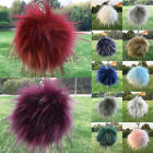 Внешний вид - Fake Raccoon Fur Fluffy Pompom Ball Handbag Car Pendant Charm Key Chain Keyrings