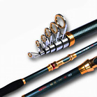 Green Carbon Fishing Rod Super Hard Long Cast Telescopic Fishing Rod(pack of 1)