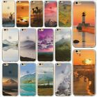 Clear Pattern Rubber Soft Silicone Phone Case Cover for Apple iPhone 6 6s Plus
