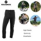 RockBros Cycling Tights Pants Reflective Breathable Sports Long Trousers Black