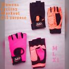 New Women Thin padding Half Finger Sports Cycling-Work out & Exercise Gloves