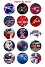 "NFL BOTTLE CAP IMAGES 15 1"" CIRCLES ALL TEAMS YOU PICK $2.45 ***FREE SHIPPING*** $2.45 USD on eBay"